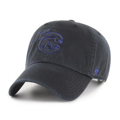 Iowa Cubs Black Clean Up Cap, OSF