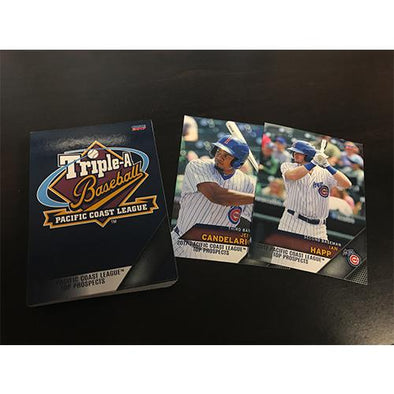 Iowa Cubs 2017 Pacific Coast League Top Prospects Card Set