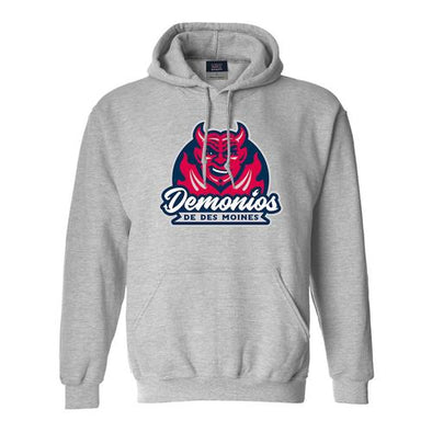 MV Sport Copa Demonios Comfort Fleece Hoodie, Gray