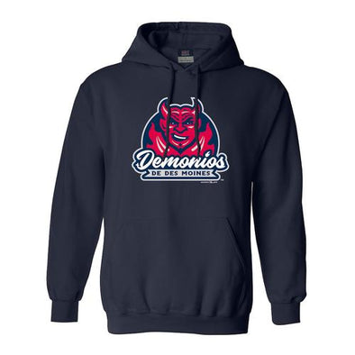 MV Sport Copa Demonios Comfort Fleece Hoodie, Navy