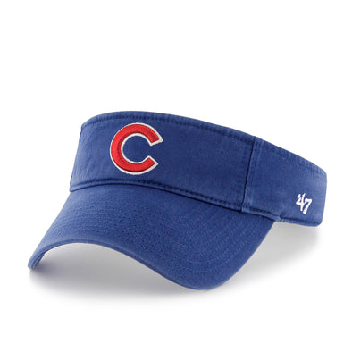 Chicago Cubs Royal Clean Up Visor