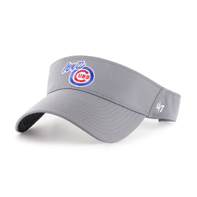 Iowa Cubs Gray Elliot Visor