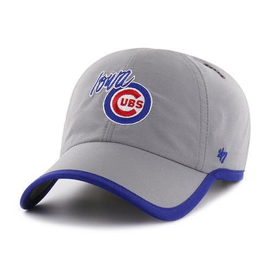 Iowa Cubs Compete Clean Gray Cap, Adjustable