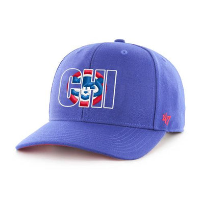 Chicago Cubs Crop Shadow MVP Cap