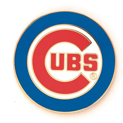 Chicago Cubs Primary Logo Lapel Pin