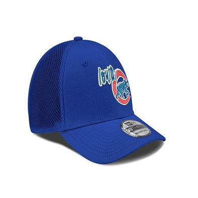 Iowa Cubs Neon 3930 Fitted Cap