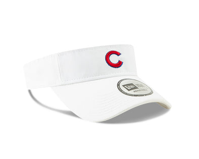 Adult Chicago Cubs Dugout Redux Visor, White
