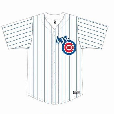 Iowa Cubs Replica Home Jersey, Adult