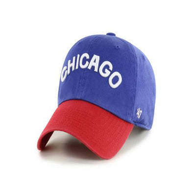 '47 Chicago Cubs Script Two Tone Clean Up Cap