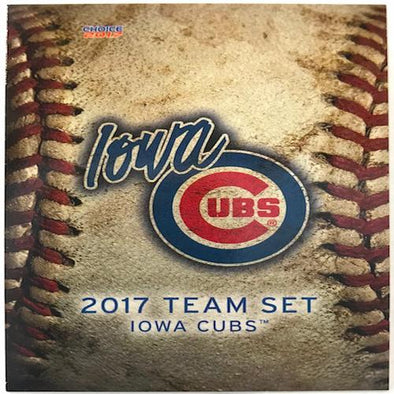 Iowa Cubs 2017 Team Card Set