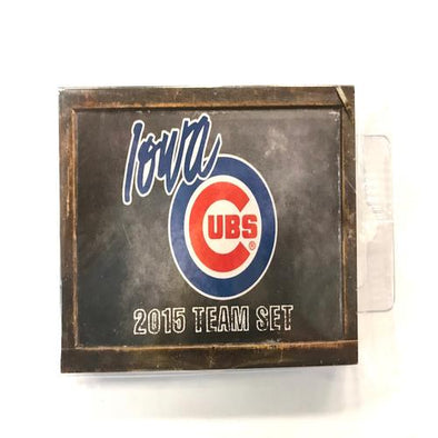 Iowa Cubs 2015 Iowa Cubs Team Card Set