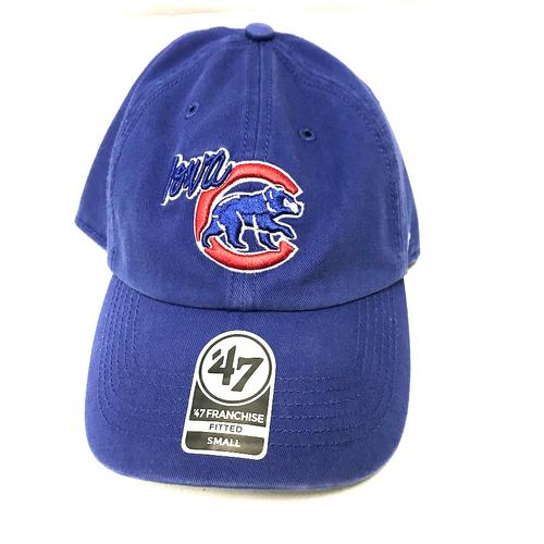 Iowa Cubs Walking Bear Franchise Fitted Cap