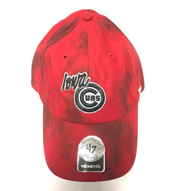 Iowa Cubs Women's Cirrus Clean Up Adjustable Cap, Red