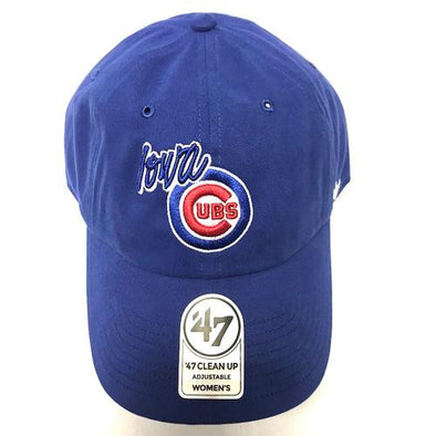 Iowa Cubs Women's Newport Clean Up Adjustable Cap, Royal