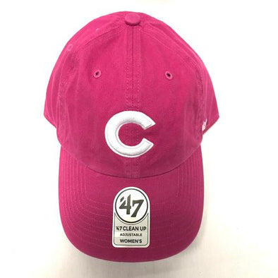 Women's Chicago Cubs Clean Up Cap, Orchid