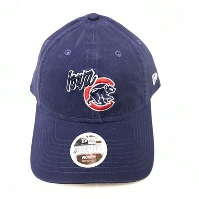 Iowa Cubs Women's WCRE TN Adjustable Cap, Royal
