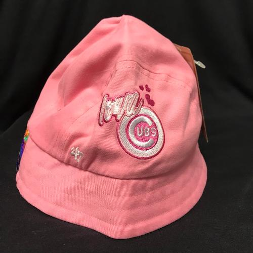Iowa Cubs Toddler Bucket Cap, Rose