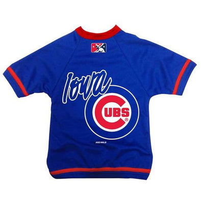Iowa Cubs Dog Jersey, Royal