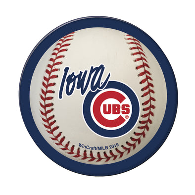Iowa Cubs Precision Cut Magnet