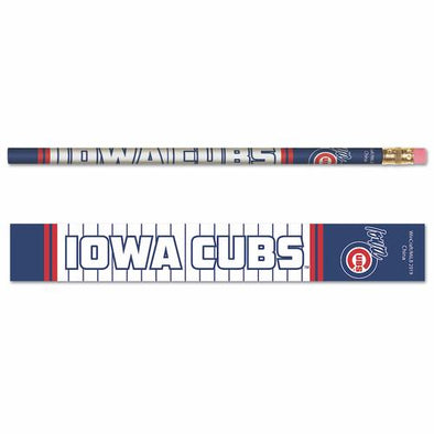 Iowa Cubs Decorated Wood Pencil