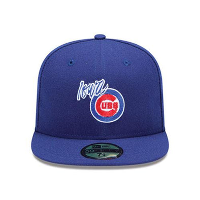 Iowa Cubs Official Fitted Road Cap