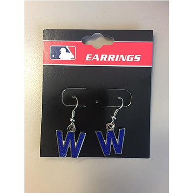 Chicago Cubs W Earrings