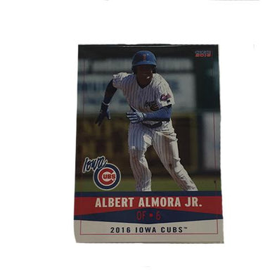 Iowa Cubs 2016 Team Card Set