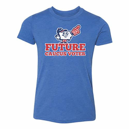 Iowa Caucuses Youth Future Voter Tee, Royal