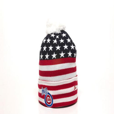 Adult Iowa Cubs USA Knit Cap