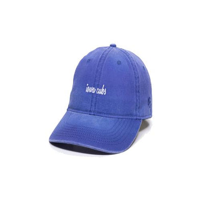 Women's Iowa Cubs Jodie Cap, Adjustable Royal