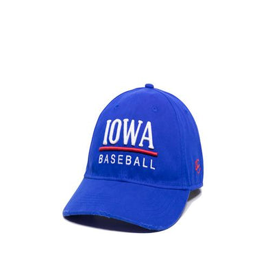 Iowa Cubs Skipper Adjustable Cap, Royal