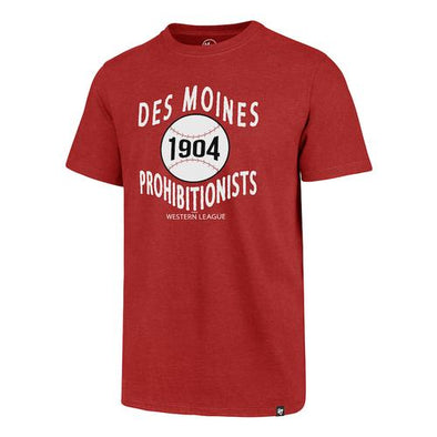 Des Moines Prohibitionists Club Tee