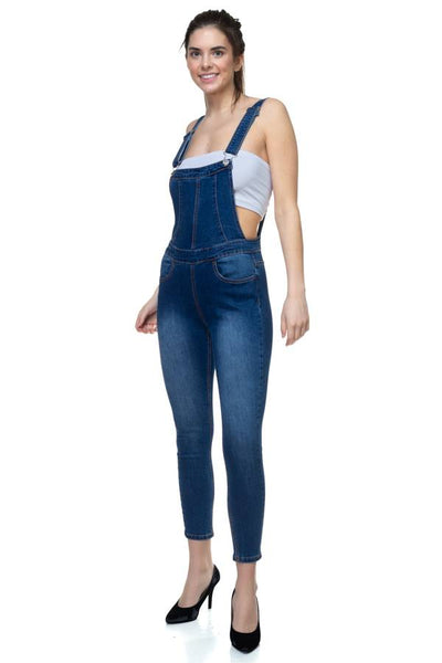 Denim Overalls Pants