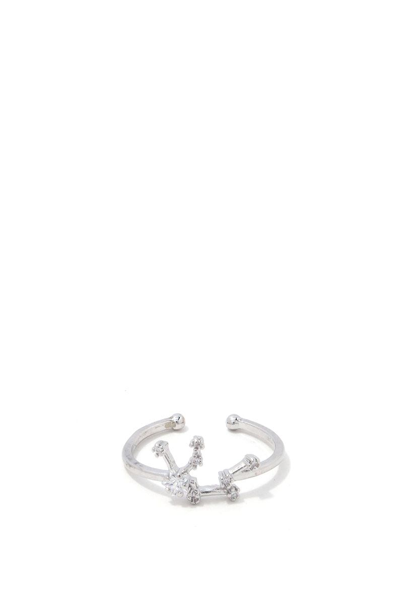 Aquarius Constellation Star Ring