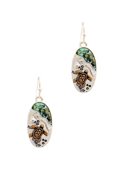 Cute Fashion Sea Turtle Drop Earring