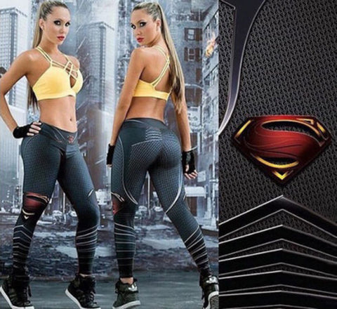 Blanca Fashion New Womens Sportswear Athletic Gym Activewear Track Running Pants Trousers Leggings 3D Print High Waist Leggings