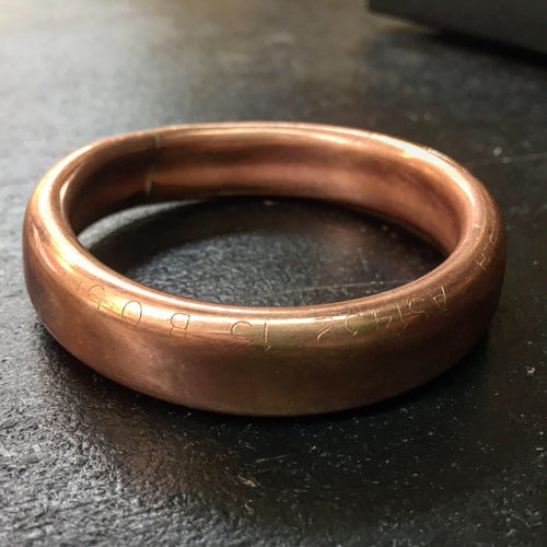 Plumber's Wife Copper Bangle