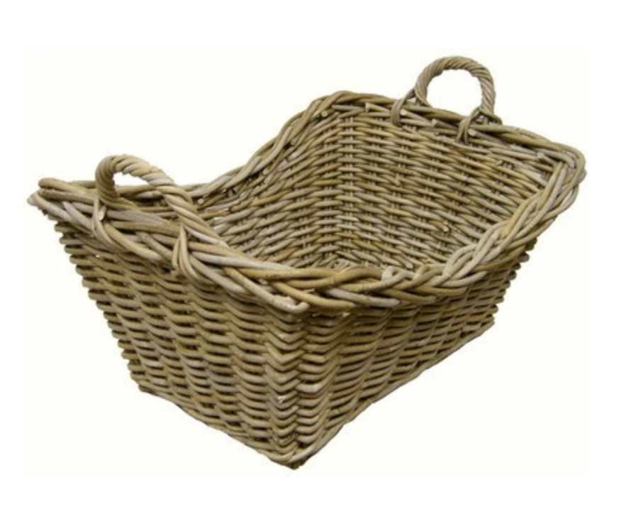 French Style Laundry Basket