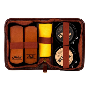 Gentlemen's Hardware: Buff & Shine Shoe Polish Kit