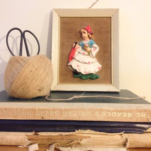 Highland Girl: Vintage Relief