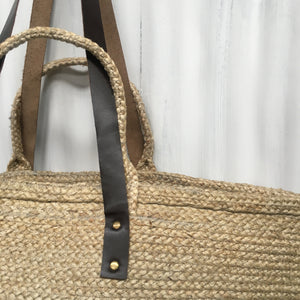 Oversized Jute Shopper