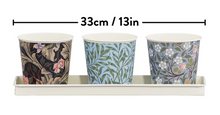 Load image into Gallery viewer, V&A Set of 3 Plant Pots