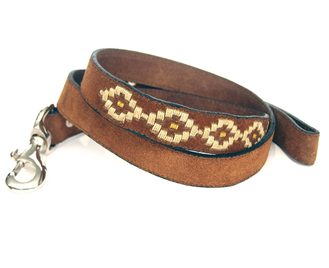 Polo Leather Dog Lead