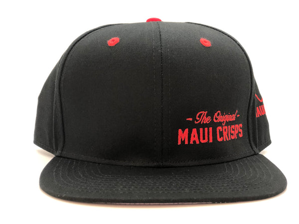 Black with Red Snapback