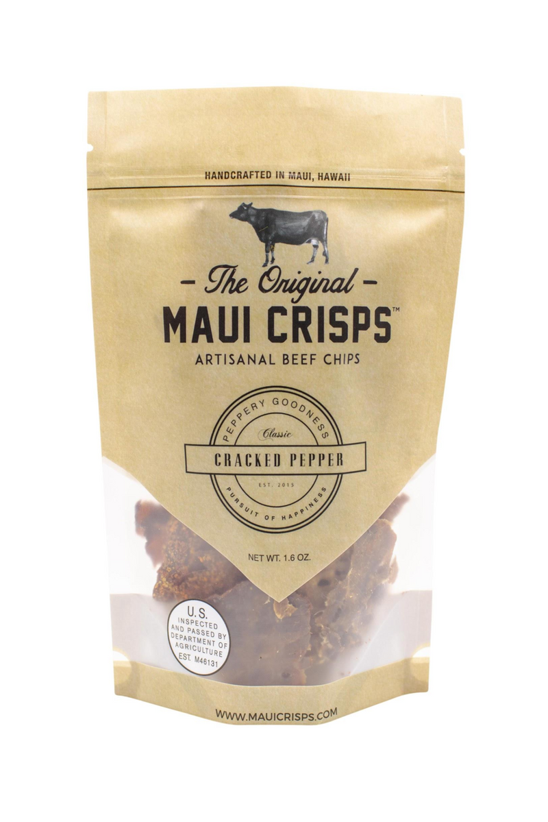 Cracked Pepper Maui Crisps  | 1.6 oz