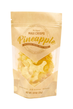 PINEAPPLE MAUI FRUIT CRISPS | .9 OZ