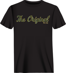 Maui Camo T-Shirt - Black/Green