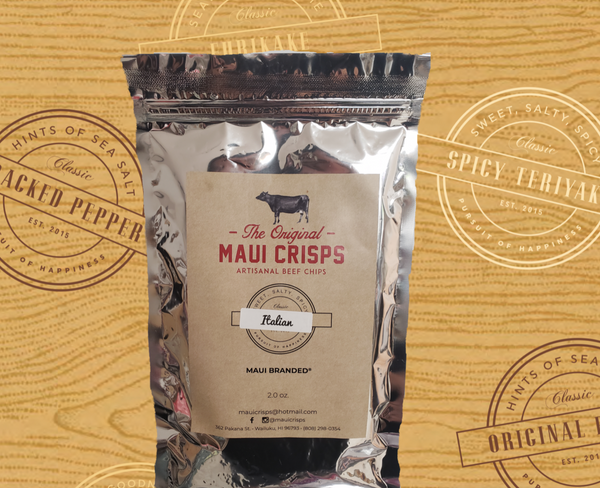 Grass-Fed Italian Maui Crisps | 2 oz.