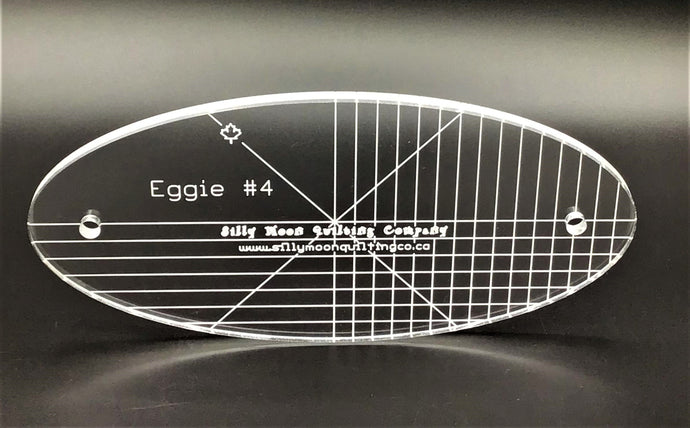 "Eggie #4 - 1/4"" or 1/8"