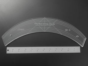 "Joan - 18"" Curve - 1/4"" thick"